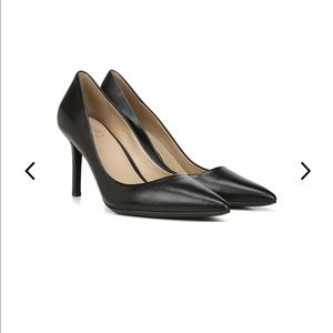 Black Leather Naturalizer High Heel